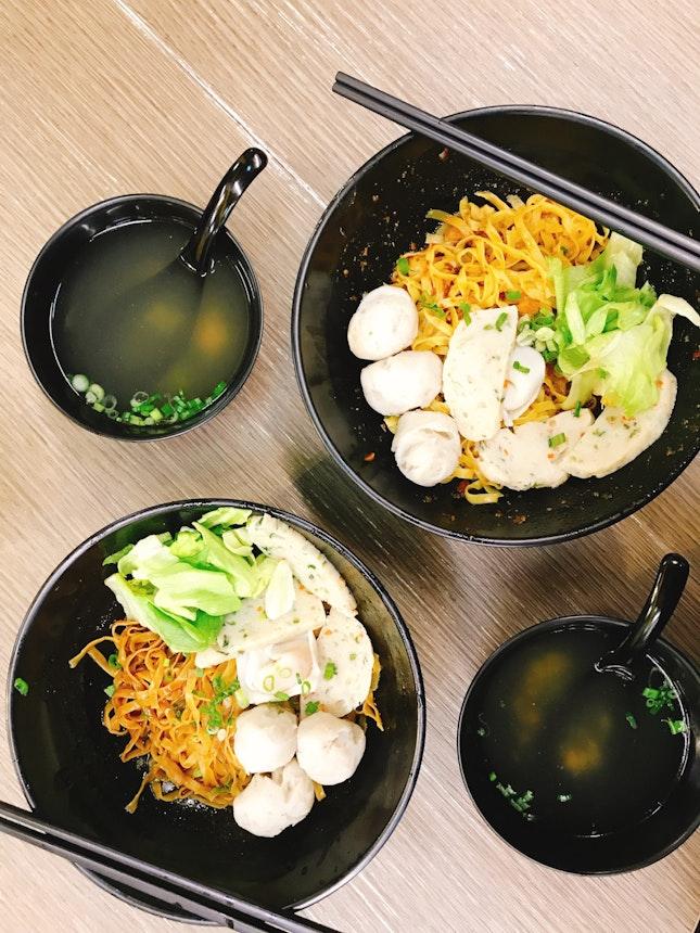Original Fishball Noodles.