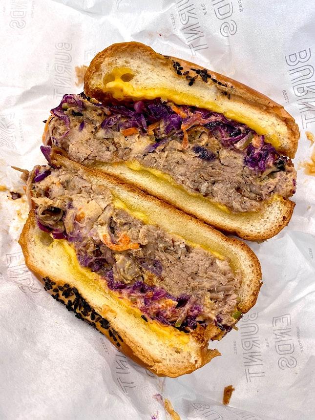 Signature Pulled-Pork Sandwich
