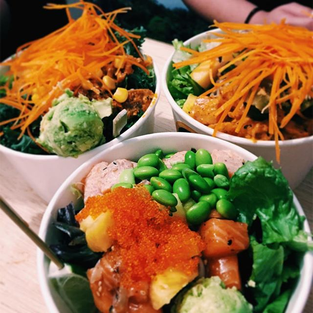 """I can shoyu the woooorld"" • Aloha Poke is still by far my favourite joint for poke bowls."