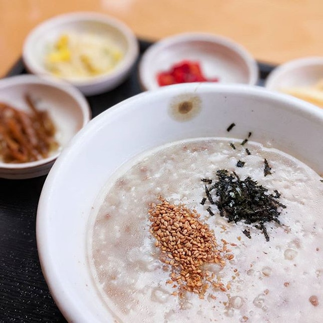 One of the many dishes known to sooth a raging hangover,  Korean porridge, or Juk is the dish you want to have between you and the roiling chasm of your melting insides.