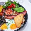 On a cold and miserable day like today, I could really do with a traditional english fry up at Botanist.