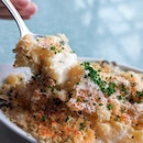 How can you say no to a good ol fashion American Mac & Cheese from Overeasy ($14) .