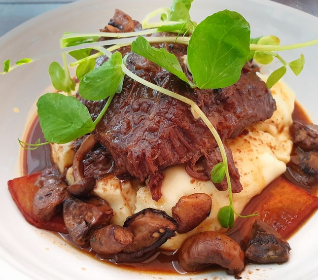 Slow Cooked Beef Cheeks $24