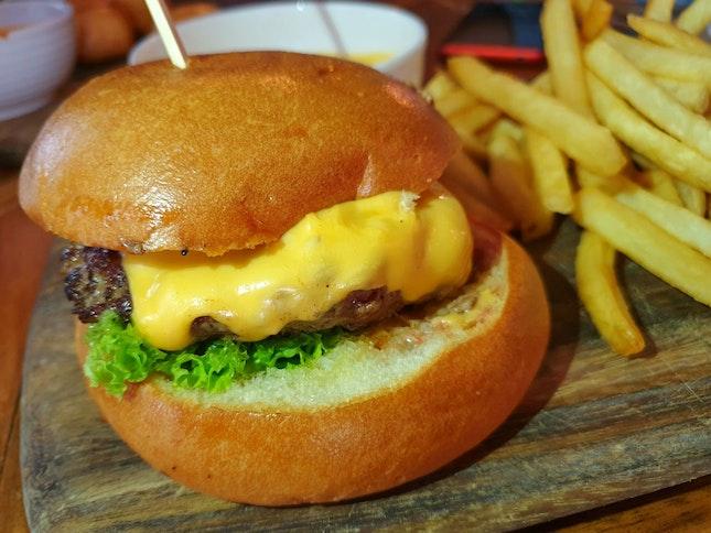 The Armoury Burger $25