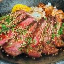 Steak With Foie Gras Don $22