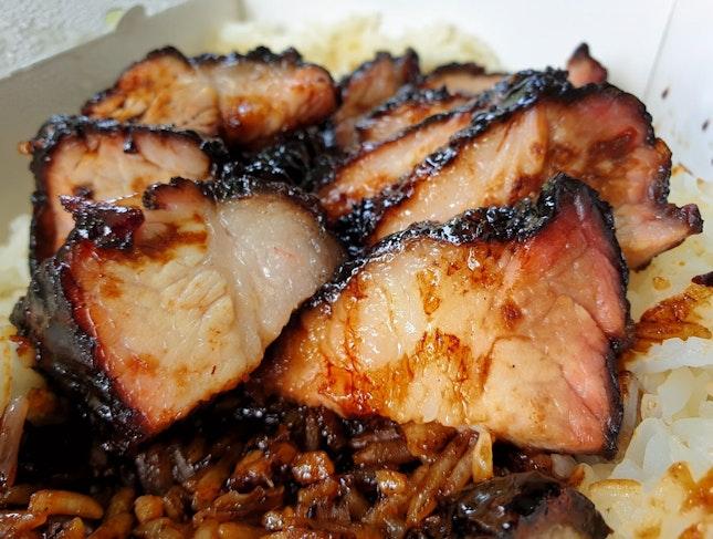 Char Siew Rice $6