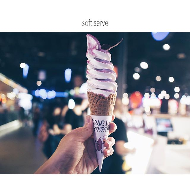 Sweet potato & sea salt twirl 🌓✨#yummeh #dessertqueen #sgfood #burpple