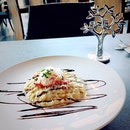 Creamy crab and prawn risotto
