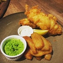#fishandchips #mushypeas #sgfoodie #whati8today #burpple