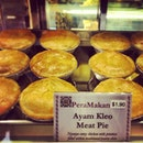 New peranakan pie store just opened. I was the second customer :)) #burpple