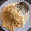 Cream Sauce Omu Rice ($16.90)