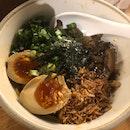 Miso Mishroom Noodles