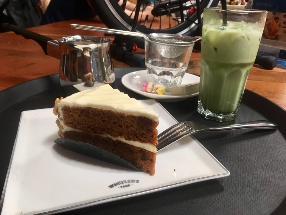 Surprisingly Good Lattes And Cake