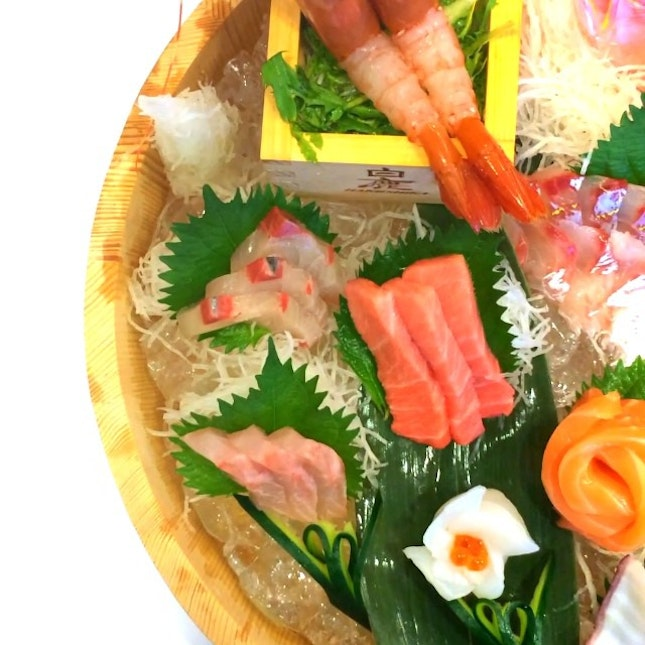 Delicious sashimi, hand-made sushi and Japanese cuisine from Fish Mart Sakuraya at Anchorpoint.