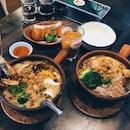Tom Yum Porridge
