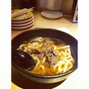 This was a fresh bowl of Niku Udon from Vivo's Ichiban Boshi.
