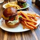 Wagyu Beef Burger With Sweet Potato Fries [~$13, Eatigo 50% Off]