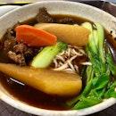 Beef Noodles [$5.50]