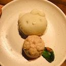Hello Kitty Red Bean Cake With Sakura Mousse [$6.80++]