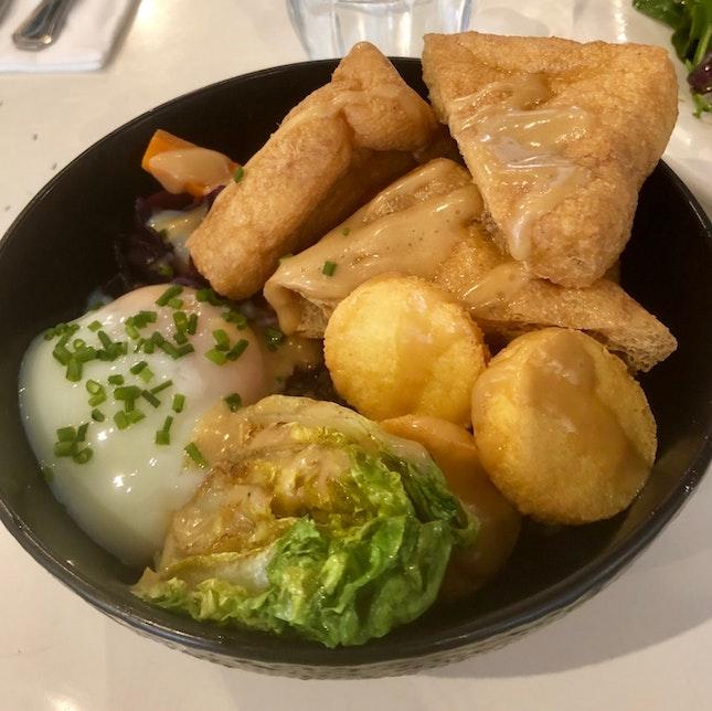 Grain Bowl With Tofu Medley [$15.90++]