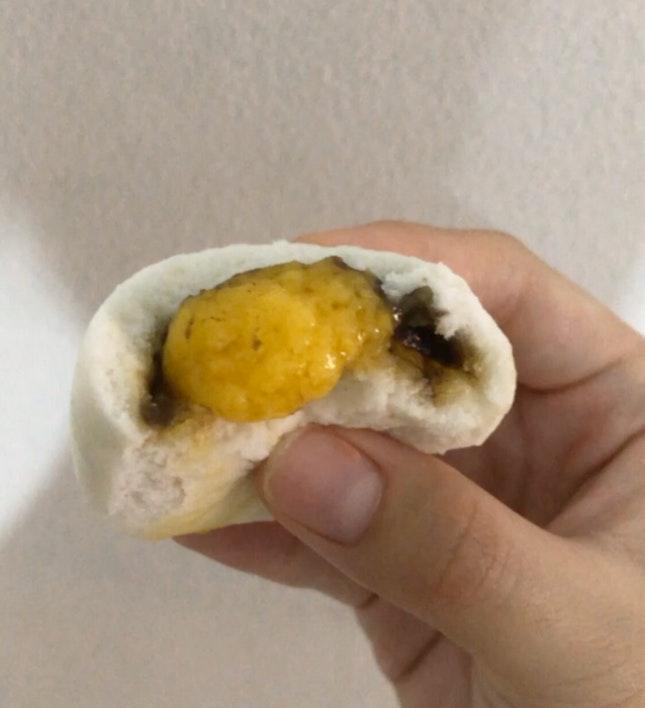 Salted Egg + Sesame Paste Bun