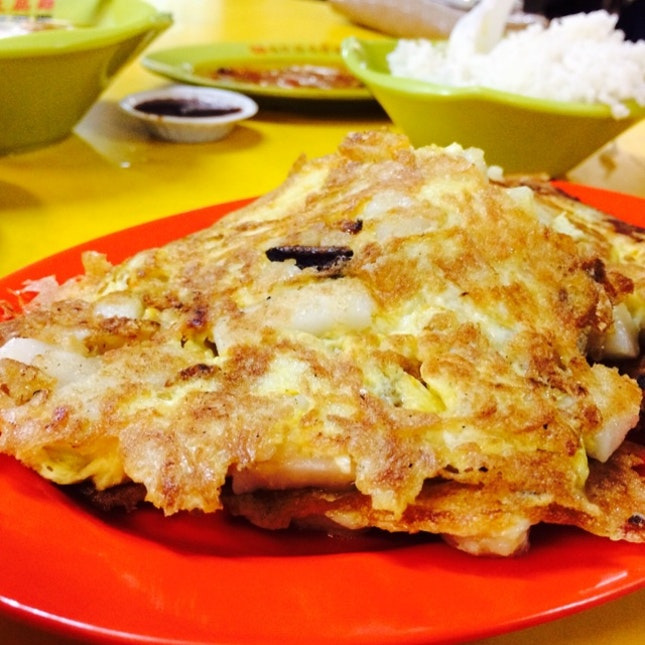 One Of The Best Fried Carrot Cake In Singapore