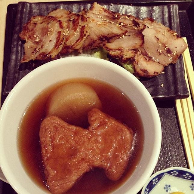 Last night dinner at Menya kaiko...