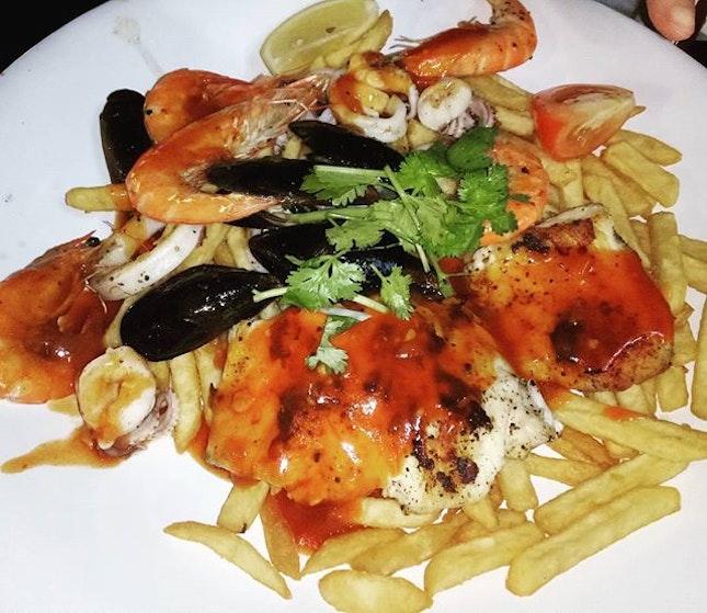 #d'Grill #seafood #jumboplatter #grill #sgfood #sgeat #hungrygowhere #instag #instagfood #burpple #wheretoeat