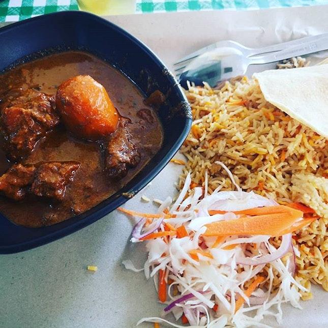 #sgfood #sgeat #hungrygowhere #instag #instagfood #foodpic #burpple #sgcafe #whati8tdy #grabfood #beefbriyani