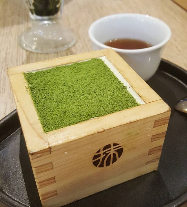 Can't believe that I have not had matcha in a while!