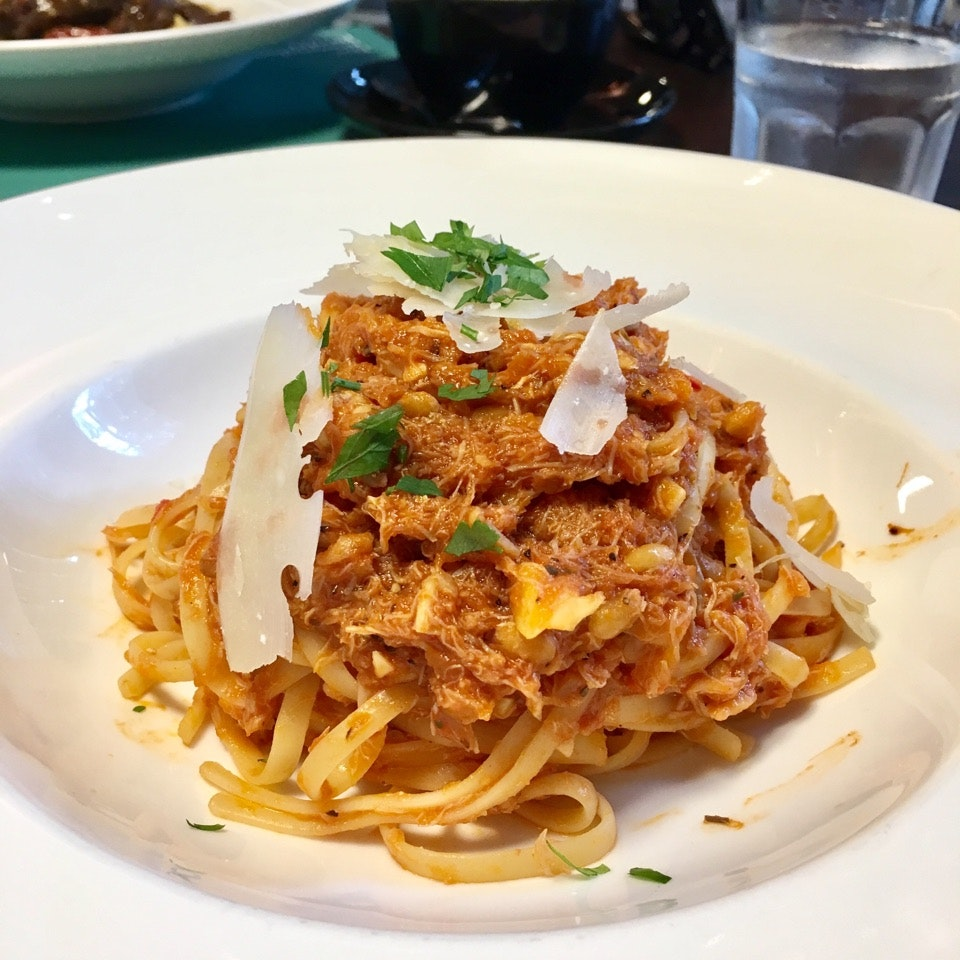 SPICY CRABMEAT PASTA $24