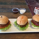 Mini Vegetarian Sliders