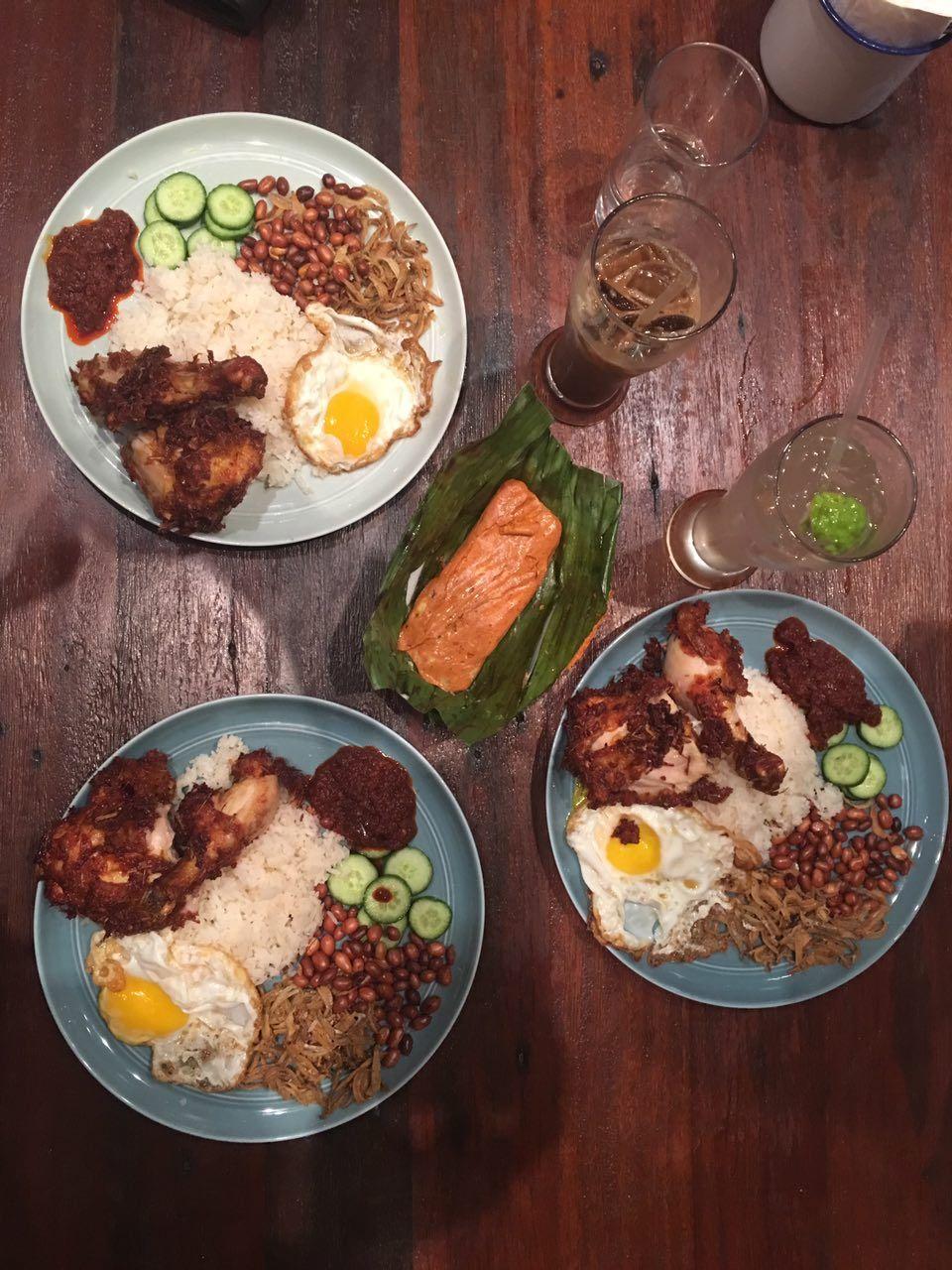 High price for nasi lemak