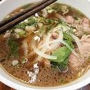 Pho beef tender slice noodle