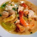 How about seafood soup tonight?
