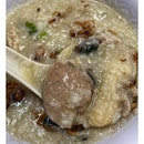 Always hearing people telling me Hougang porridge very good.