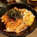 Superb Salmon Mentaiko Don