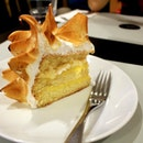 Lemon Meringue Sponge Cake ($10)