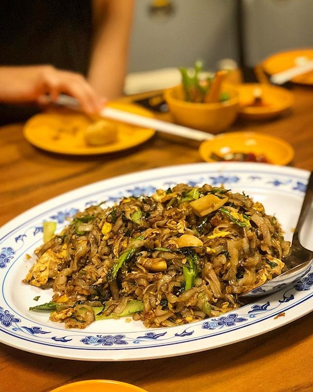 How can we not order the chye poh kway teow!?