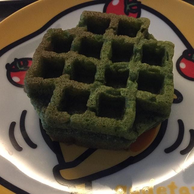 Matcha Protein Waffle