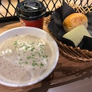 Quick And Light Soup And Bread Bowl Combo ($8.90)