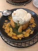 Lava Cookies And Ice Cream