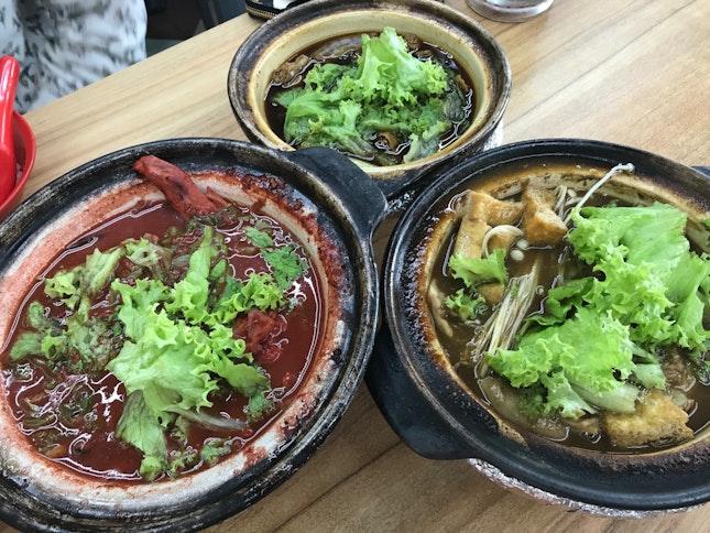 Claypot Bak Kut Teh & Hong Zao
