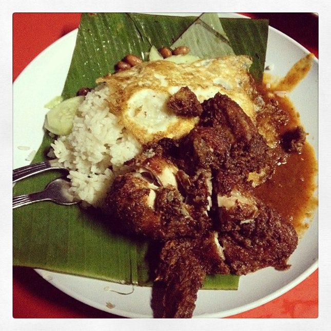 Nasi lemak#delicious#supper#satisfy#chicken#instafood