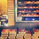 moon cakes @ 大中国. traditional good food!