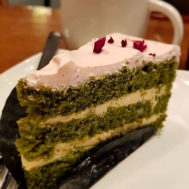 Blossom Green Tea Cake