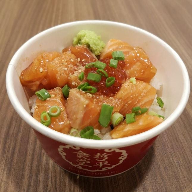 Salmon Chirashi Don