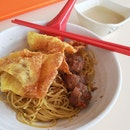 Wanton And Meatball Noodles