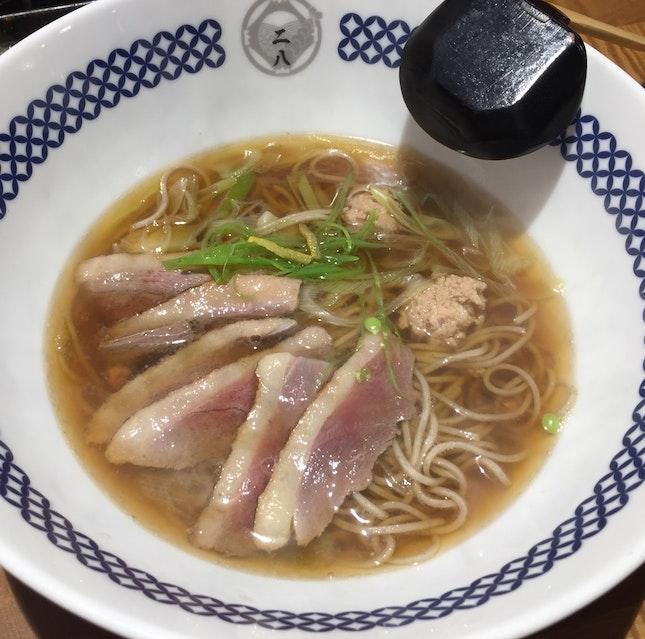 Hot kamo Nanban Soba