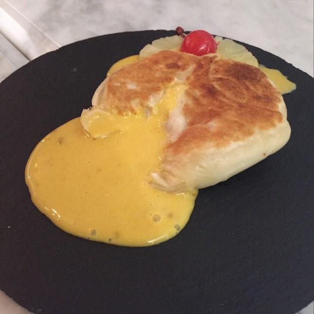 Singapore's first Salted Egg Prata Bomb!
